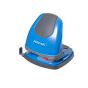 Rexel Easy Touch Low Force Perforator 2-gaats 30 Vel Blauw