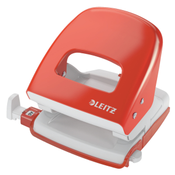 Leitz NeXXt Series Metal Office Hole Punch papierperforator 30 vel Rood