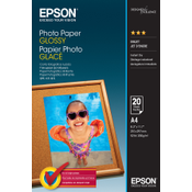 Epson Photo Paper Glossy - A4 - 20 Vellen