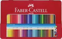 Faber-Castell - Colour Grip, Coloured Pencil, Tin of 36 (112435)