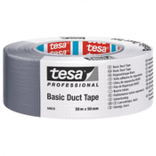 TESA Basic Duct Tape 50m x 50mm Silver 1 Piece 04610-00000