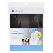 Silhouette - Adhesive Magnet Paper, 4 sheets (MEDIA-MAGNET-ADH)