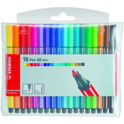 STABILO Pen 68 Mini viltstift Blauw