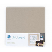 Silhouette - Chipboard, 25 sheets (MEDIA-CHIPBOARD)