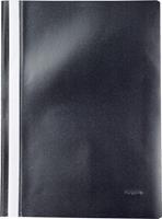 Pergamy snelhechtmap, ft A4, PP, pak van 5 stuks, zwart