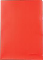 Pergamy L-map, ft A4, PP van 120 micron, pak van 25 stuks, rood