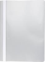 Pergamy snelhechtmap, ft A4, PP, pak van 25 stuks, grijs