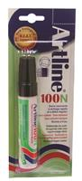 Permanent marker Artline 100 zwart (op blister)