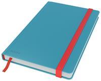 Leitz Cosy notitieboek met harde kaft, voor ft A5, gelijnd, blauw