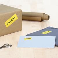 herma Multifunctionele Etiketten SuperPrint Geel Rechthoekig 1600 Etiketten per pak