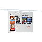 legamaster Wandmontage Magnetisch Whiteboard Railssysteem Emaille Legaline 100 x 150 cm