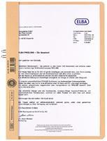 elba 36450RO Klemmap A4 23,7 x 0,5 x 30,9 cm 80 g/m²