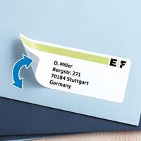 herma Verwijderbare Etiketten 10311 Wit Rechthoekig 1200 Etiketten per pak
