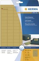 herma Gouden Etiketten 4103 Rechthoekig 525 Etiketten per pak