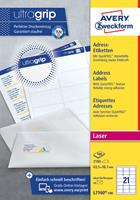 Avery Zweckform Avery L7169-100 Verzendetiketten Zelfklevend 139 x 99,1mm Wit 100 Vellen à 4 Etiketten