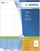 herma Multifunctionele Etiketten 4414 Wit Rechthoekig 70 x 36 mm 500 Vellen van 24 Etiketten