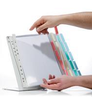 durable 568800 Bureaudisplaysysteem Geel, Rood, Blauw, Groen A4 Staal