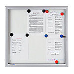 legamaster Buitenvitrine whiteboard Premium 940 x 692 mm