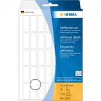 herma Multifunctionele etiketten 2350 Wit 12 x 30 mm 32 Vellen à 32 Etiketten