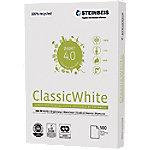 steinbeis ClassicWhite 100 % Recycled print-/ kopieerpapier A4 80 gram Gebroken Wit 55 CIE 500 vellen
