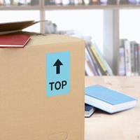 herma Multifunctionele Etiketten SuperPrint Blauw Rechthoekig 100 Etiketten per pak