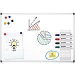 officedepot Office Depot Wandmontage Magnetisch Whiteboard Gelakt Staal 120 x 90 cm