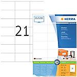 herma Multifunctionele etiketten 4634 Wit 70 x 41 mm 200 Vellen à 21 Etiketten