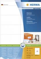 herma PREMIUM etiketten 4629 Wit 105 x 50,8 mm 200 Vellen à 10 Etiketten