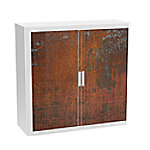 paperflow Roldeurkast Roest Kleurenassortiment 1.100 x 415 x 1.040 mm
