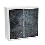 paperflow Roldeurkast Nigrum Kleurenassortiment 1.100 x 415 x 1.040 mm
