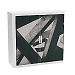 paperflow Roldeurkast Balken Kleurenassortiment 1.100 x 415 x 1.040 mm