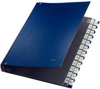 leitz Sorteermap 59240035 A4 Blauw Karton, polypropyleen 27,2 x 35,5 x 3,5 cm