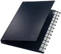 leitz Sorteermap 59240095 A4 Zwart Karton, polypropyleen 27,2 x 35,5 x 3,5 cm