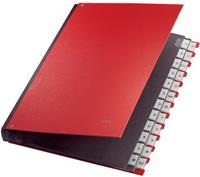 leitz Sorteermap 5924 A4 Rood Karton, polypropyleen 27,2 x 35,5 x 3,5 cm