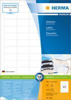 herma Multifunctionele etiketten 4635 Wit 105 x 48 mm 200 Vellen à 12 Etiketten
