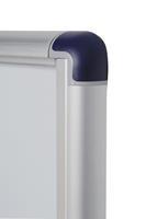 bi-office Wandmontage Afsluitbaar Mededelingenbord Enclore Budget 27 x 35,7 cm Wit