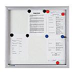 legamaster Buitenvitrine whiteboard Premium 989 x 940 mm