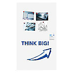 legamaster Wandmontage Magnetisch Whiteboard Emaille WALL-UP 119,5 x 200 cm