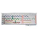 legamaster Jaarplanner magnetisch Professional Wit 150 x 50 cm