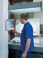 durable 569100 Wandhouder displaysysteem Blauw, Rood A4 Polyvinyl Chloride (PVC), metaal 28 x 10 x 42 cm