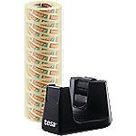 tesafilm Plakbandhouder Easy Cut Smart + 8 Rolletjes Plakband Zwart