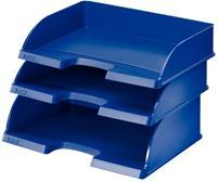 leitz Jumbo Brievenbak Grijs A4 liggend Polystyreen 27,3 x 36,3 x 10,3 cm