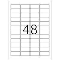 herma Inkjet-etiketten 8864 Geel 45,7 x 21,2 mm 25 Vellen à 48 Etiketten