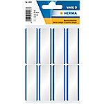 herma 1903 Naametiketten Verwijderbare 54 x 19 mm Wit Rechthoekig, Blauw Rechthoekig 10 Pak van 160 Etiketten