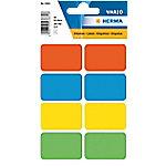 herma Etiket 3681 26x40mm (10) Multifunctionele etiketten Kleurenassortiment 26 x 40 mm 10 Pakken à 400 Etiketten