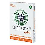 biotop3 Bio Top 3 Chloorvrij gebleekt print-/ kopieerpapier A3 80 gram Wit 89 CIE 500 vellen