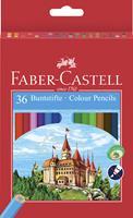 faber-castell Eco Potlood + Puntenslijper Kleurenassortiment 36 Stuks