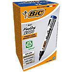 bic Marking 2000 Permanent Marker Medium Ronde Punt Blauw 12 Stuks