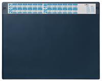 durable Design premium Bureau onderlegger Donkerblauw Plastic 65 x 52 x 52 cm
