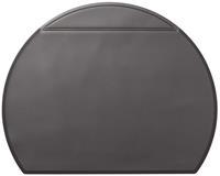durable Design Premium Bureau onderlegger met cover Zwart PVC 69 x 52 x 53 cm